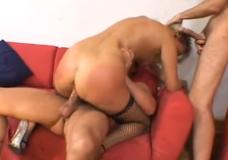 Žiauri orgija su blondine