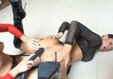 Tory ir Annette juodas porno