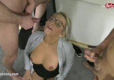 Porno su blondine mokytoja klasėje ir mokiniu