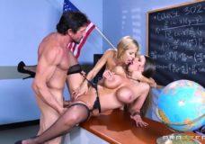 Grupinis seksas su mokytoja