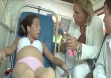 Grupinis su jaunute ir nėštuke