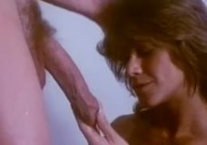 Retro porno su plaukuotom putėm