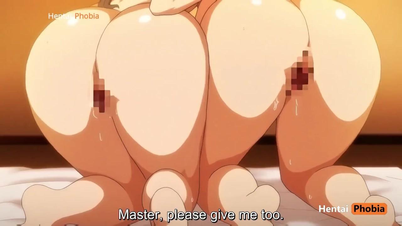 Hentai porno multikai: seksas miške