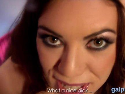 POV porno su įdomia mergina